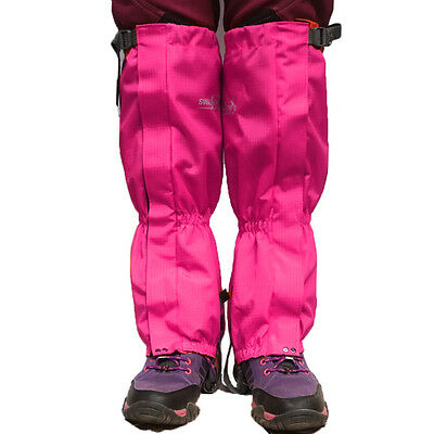 1Pair Outdoor Hiking Hunting Snow Ski Waterproof Boots Gaiters Protect Leg Cover