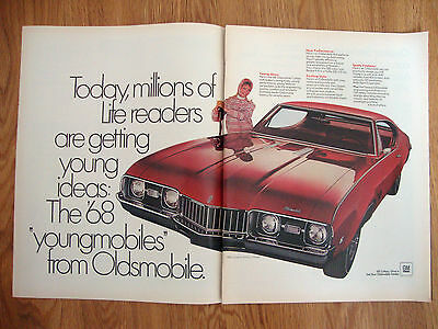 1968 Oldsmobile Cutlass S Holiday Coupe Ad