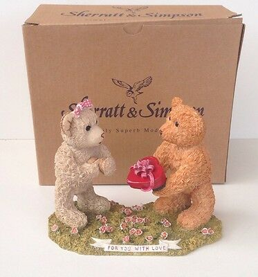 Sherratt & Simpson 'For You With Love' Ornament
