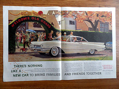 1960 Buick Invicta Coupe Ad What a Homecoming Welcome Old Grads