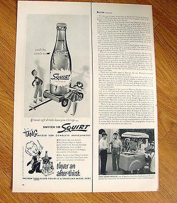 1956  Squirt Soda Ad   Small fry Switch to