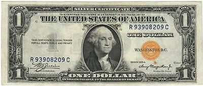 Series Of 1935-A Africa Emergency Issue Silver Certificate $1 Fr. 2306 Choice Cu