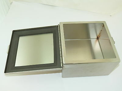 Stainless Steel Enclosure 8X8X5 New Other