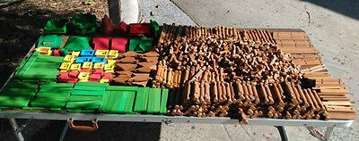 1300+ pcs Assorted Lincoln Logs