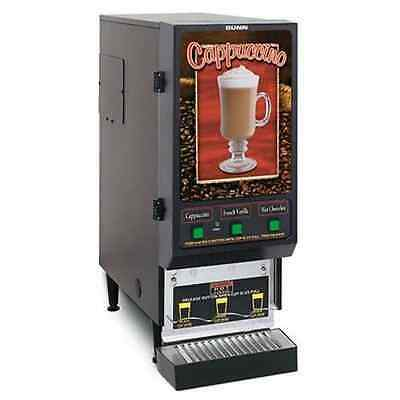 Bunn FMD-3 3 Selection Commercial Cappuccino Machine &Wrty Cert WILL SHIP