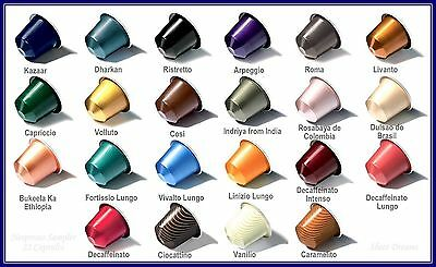 100 NESPRESSO CAPSULES-PER SLEEVE YOU PICK'n'MIX ! ANY 28 BLENDS YOU LIKE