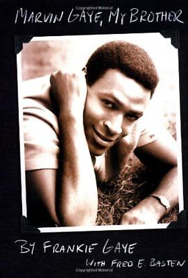 Marvin Gaye, My Brother, Basten, Fred E. Hardback Book The Cheap Fast Free Post