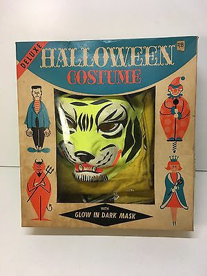 Vintage 1960s Bland Charnas Glow In Dark Deluxe Box Set Tiger 2500 + Extras HTF
