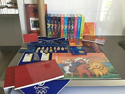 59 souvenirs The Olympic Club memorabilia Sydney 2000 Olympics Collectibles NEW