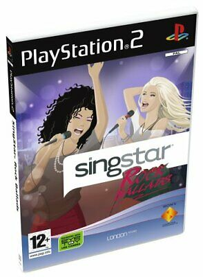 SingStar Rock Ballads - Solus (PS2) - Game  RIVG The Cheap Fast Free Post