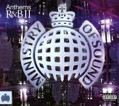 Various Artists - Anthems R&B II - Various Artists CD V2VG The Cheap Fast Free