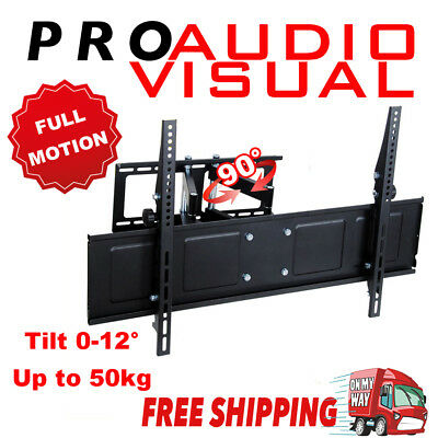 Low Profile Steel Solid 42''-65'' LCD LED TV Wall Mount Full Motion Bracket
