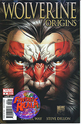 Wolverine Origins #2 1:100 Canadian Flag Variant CGC Ready