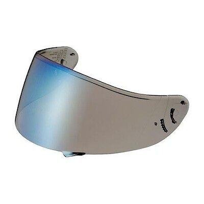 Shoei NXR genuine Blue Iridium visor tinted motorcycle helmet screen CWR-1