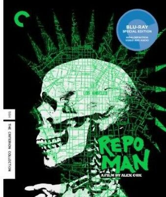 Repo Man (Criterion Collection) [New Blu-ray] Mono Sound, Subtitled, Widescree