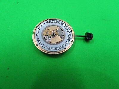 New Swiss Watch Movement Eta 955 412 D6 Include Stem And Battery