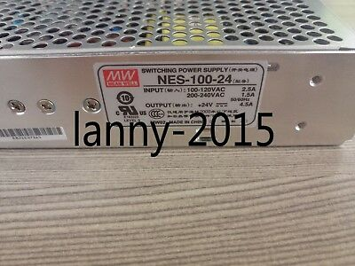 1PC Mingwei switching power supply NES-100-24 100W output 24VDC 4.5A