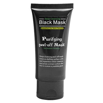 Hot!!! Blackhead Remover Deep Cleansing Purifying Peel Acne Black Mud Face Mask