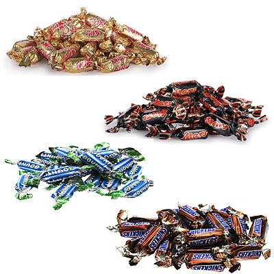 MINIATURES MARS BOUNTY TWIX SNICKERS 10PZ Cioccolatini Caramelle Dolci Snack D59