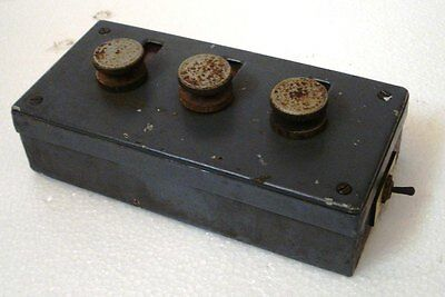 POLAND Made VINTAGE Number Rout Box - SHIP'S 100% ORIGINAL