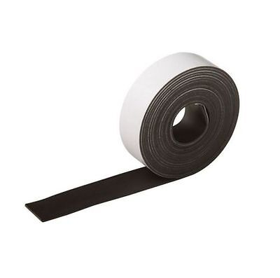 Silverline Flexible Strong Sticky Backed Craft Self Adhesive Magnetic Tape Strip