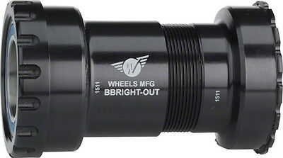 New Wheels Manufacturing BBright to Shimano Bottom Bracket with ABEC-3