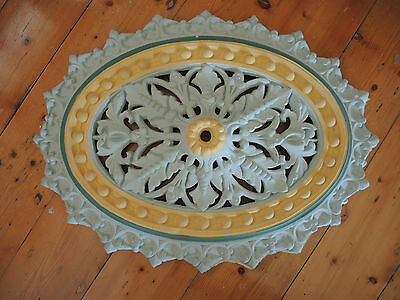Very Intricate Victorian Style CEILING ROSE Plaster