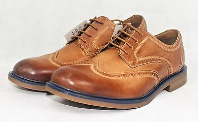 Mens Catesby Raspin Tan Leather Brogue Formal Smart Shoes Sizes 7 8 9 10 11 12