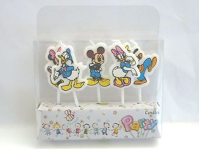 DISNEY Novelty Birthday Cake Candle Candles Minnie Mickey Donald daisy Goofy
