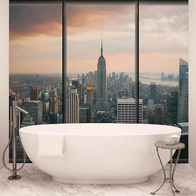 WALL MURAL PHOTO WALLPAPER XXL City New York Skyline Empire State	 (493WS)
