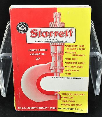 Starrett Tools Catalog No. 27
