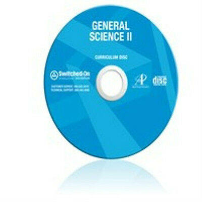 8th Grade SOS Science Homeschool Curriculum CD Switched on Schoolhouse 8