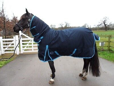 NEW Outdoor HeavyWeight  Combo 600 DENIER Turnout Show Rugs Winter 300 gsm