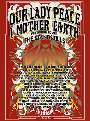 Our Lady Peace / I Mother Earth - Tour Poster 16