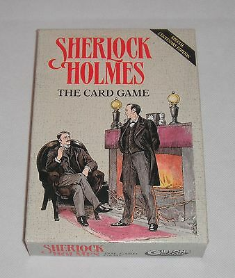 Gibsons Games 1991 Sherlock Holmes The Card Game Special Centenary Edition