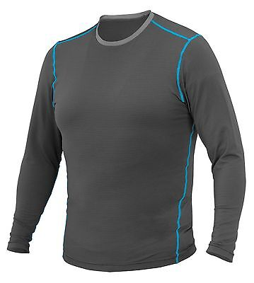 FirstGear 37.5 Basegear Long Sleeve Top, XL, Grey, NEW in Package