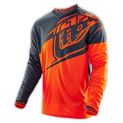 Troy Lee Designs GP Flexion Youth MX/Offroad Jersey Orange/Gray XL