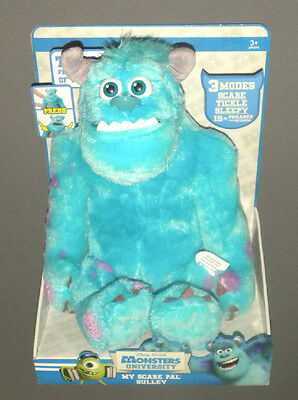 Monsters University My Scare Pal Sulley Talking Stuffed Figure Doll NEW