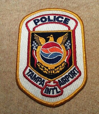 FL Tampa International Airport Florida Police Patch