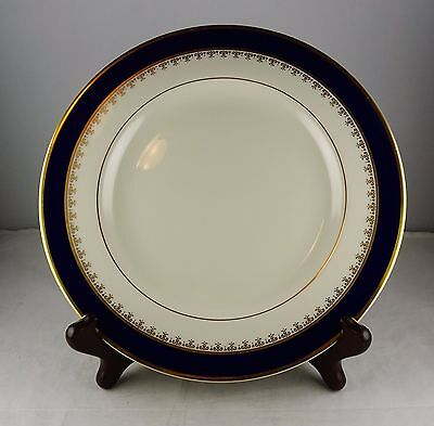 Pickard Washington China Bread Plate - Cobalt and Gold Design