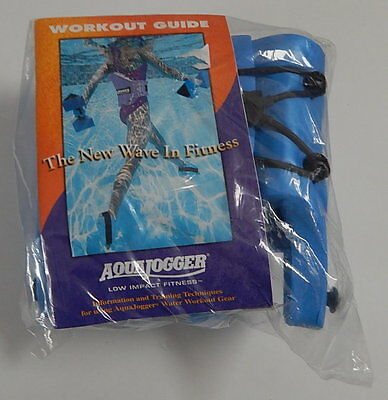Aqua Jogger Shoes And Trainning Workout Guide SEALED R12345