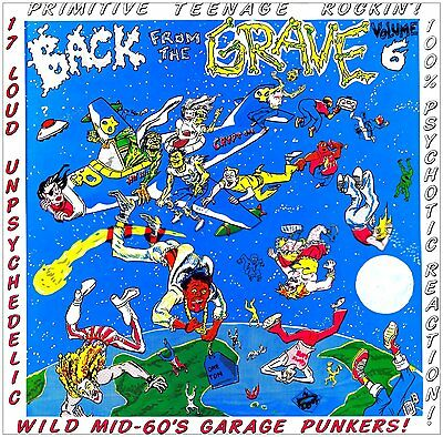 VA.BACK FROM THE GRAVE VOL. 6 (LP) RARE MID 60s GARAGE PUNKERS ♪♪HEAR♪♪