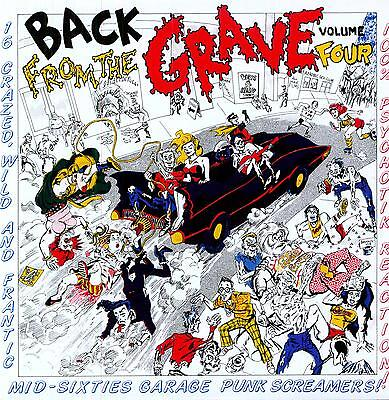 VA.BACK FROM THE GRAVE VOL. 4 (LP) RARE MID 60s GARAGE PUNKERS ♪♪HEAR♪♪