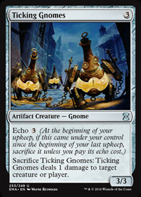 Ticking Gnomes (FOIL) - MTG Eternal Masters - NEW