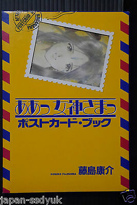 JAPAN Ah My Goddess Postcard Book Kosuke Fujishima Art book