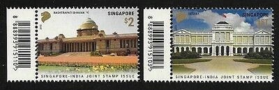 Singapore 2015 Joint issue India MNH A231