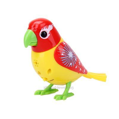 20 Songs Sound Voice Control Activate Chirping Singing Bird Funny Kids Toy Gift