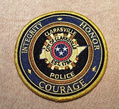 TN Clarksville Tennessee Police Patch