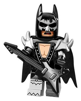 The LEGO Batman Movie Collectible MiniFigure: #02 - Glam Metal Batman (Sealed!)
