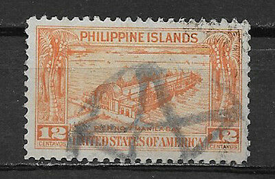 PHILIPPINES ,1932 , PIER NO. 7 , 12c STAMP ,  PERF,  USED